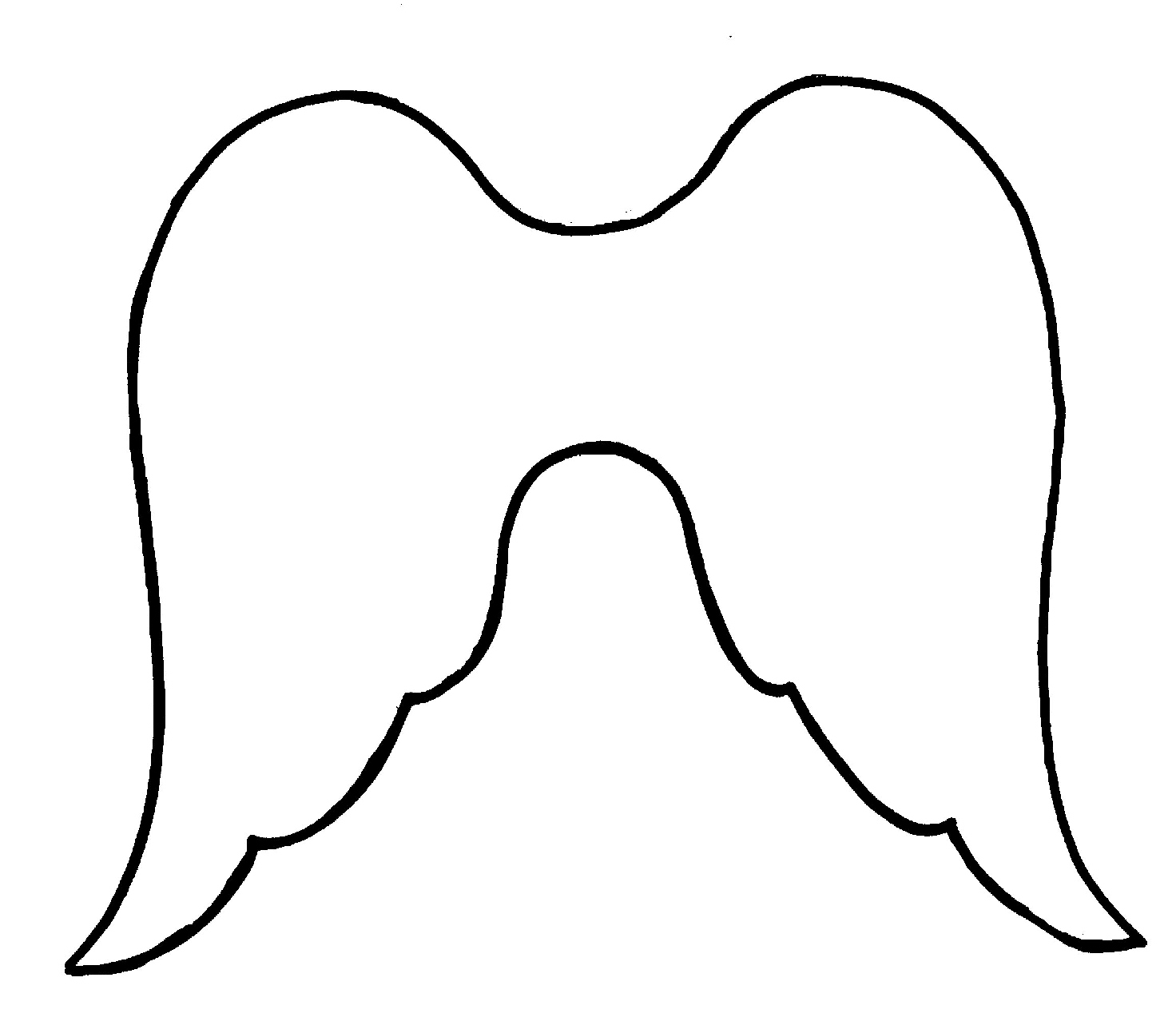 Free Printable Angel Wings, Download Free Clip Art, Free Clip Art On - Free Printable Pictures Of Angels