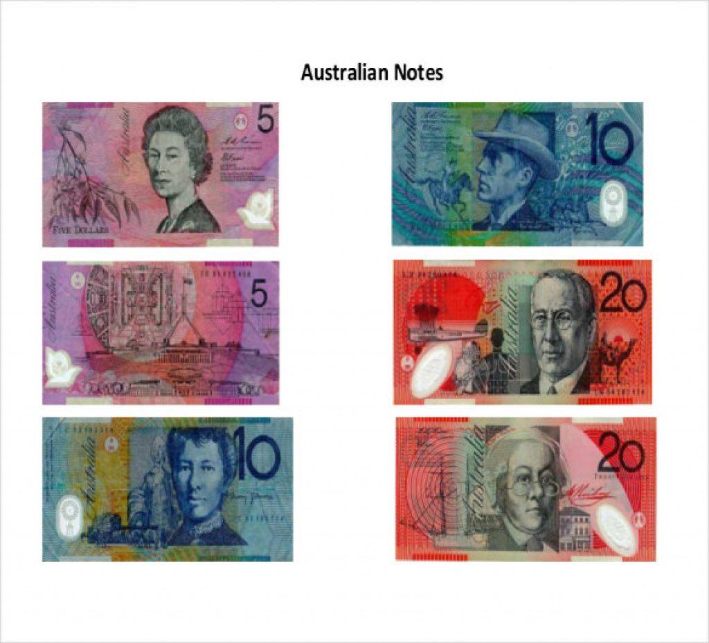 Free Printable Australian Notes | Free Printable - Free Printable Australian Notes