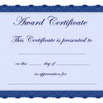 Free Printable Award Certificate Borders |  Award Certificate   Grandparents Certificate Free Printable