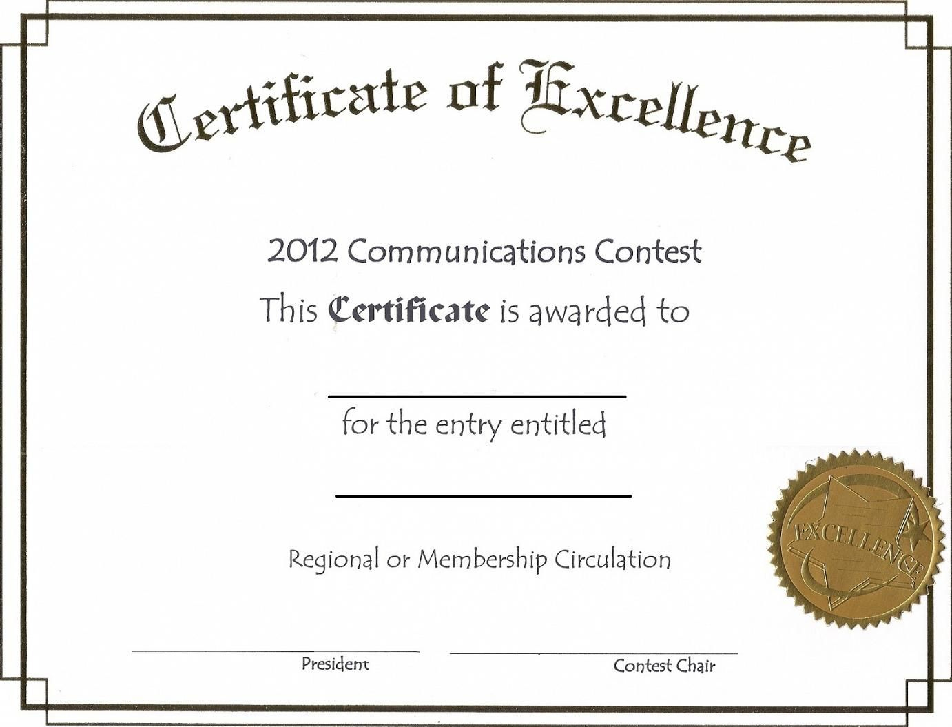 Free Printable Award Certificate Certificates For Work Awards - Free Printable Award Certificates For Elementary Students