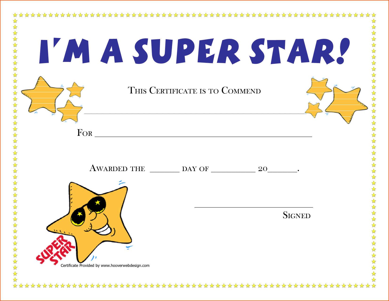 Free Printable Award Certificates   New Calendar Template Site   G - Free Printable Award Certificates