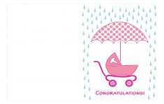 Congratulations On Your Baby Girl Free Printable Cards