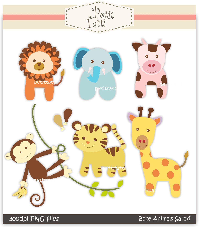 Free Printable Baby Clip Art |  Clip Art., Baby Animal Safari - Free Printable Pictures Of Baby Animals