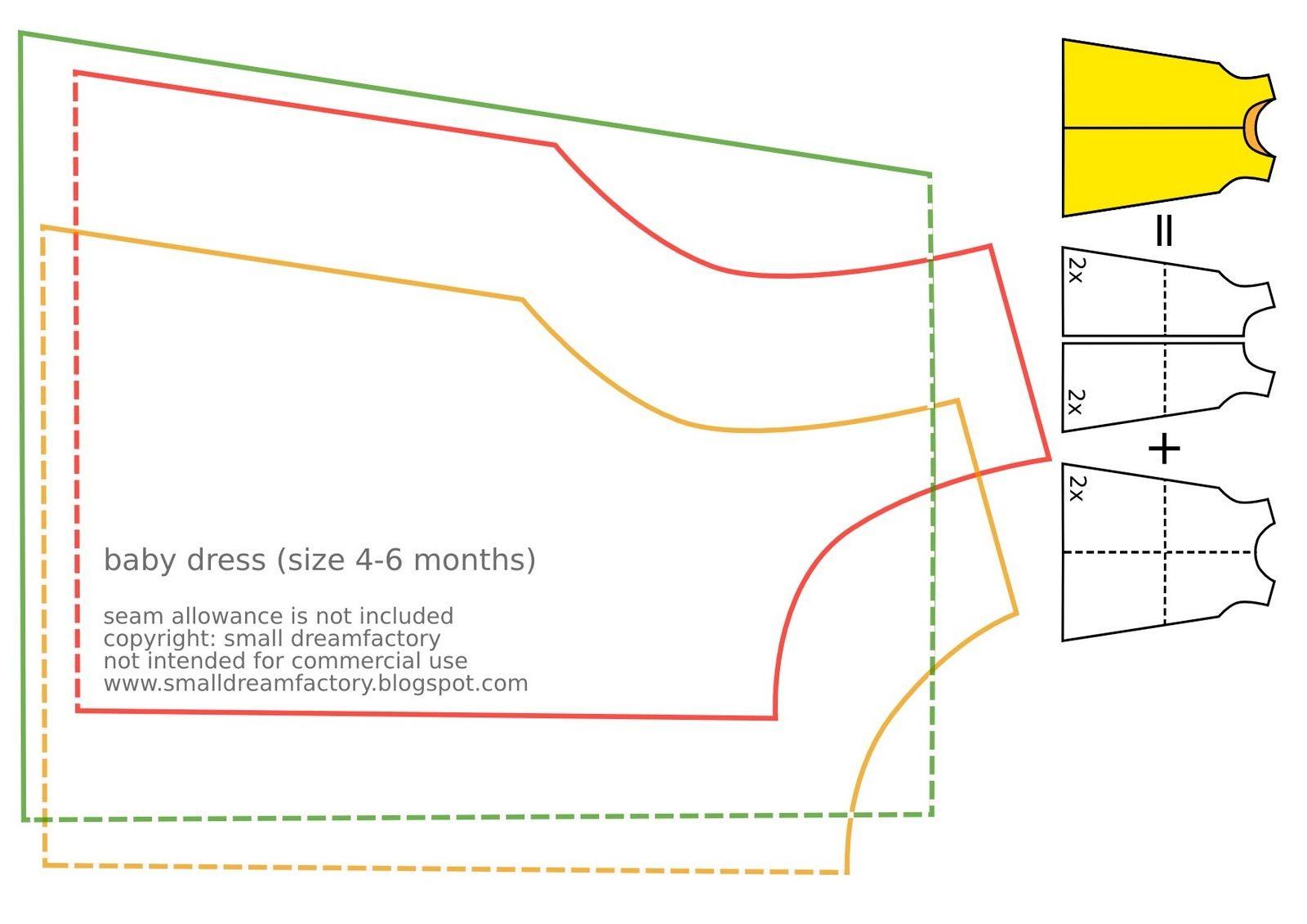 Free Printable Baby Sewing Patterns   Free Sewing Tutorial And - Free Printable Pillowcase Dress Pattern