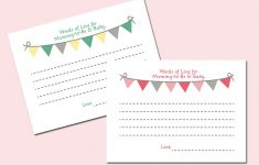 Baby Prediction And Advice Cards Free Printable