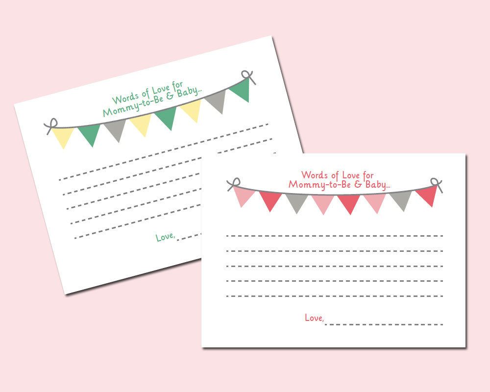 Free Printable Baby Shower Advice Cards - Image Cabinets And Shower - Baby Prediction And Advice Cards Free Printable