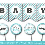 Free Printable Baby Shower Banner Letters   Baby Shower Ideas   Free Printable Baby Shower Banner Letters