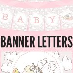 Free Printable Baby Shower Decorations Banner Letters | Blog   Free Printable Baby Shower Banner Letters