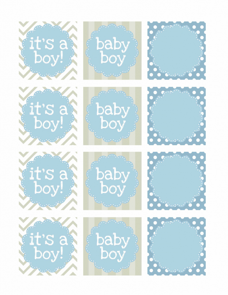 Free Printable Baby Shower Favor Tags Template Baby Shower Templates - Free Printable Baby Shower Label Templates