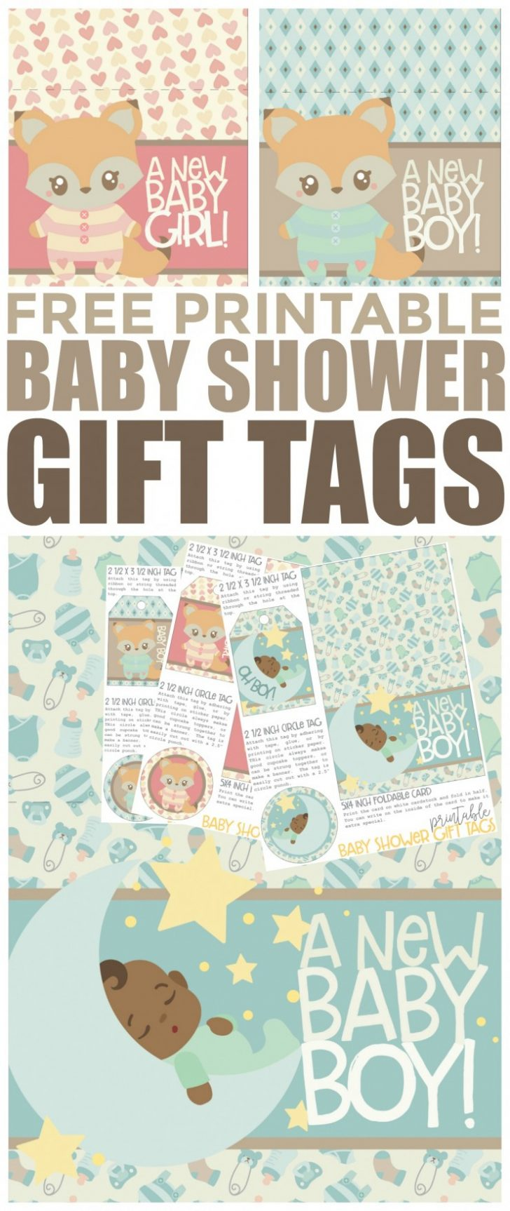 Free Printable Baby Shower Labels And Tags