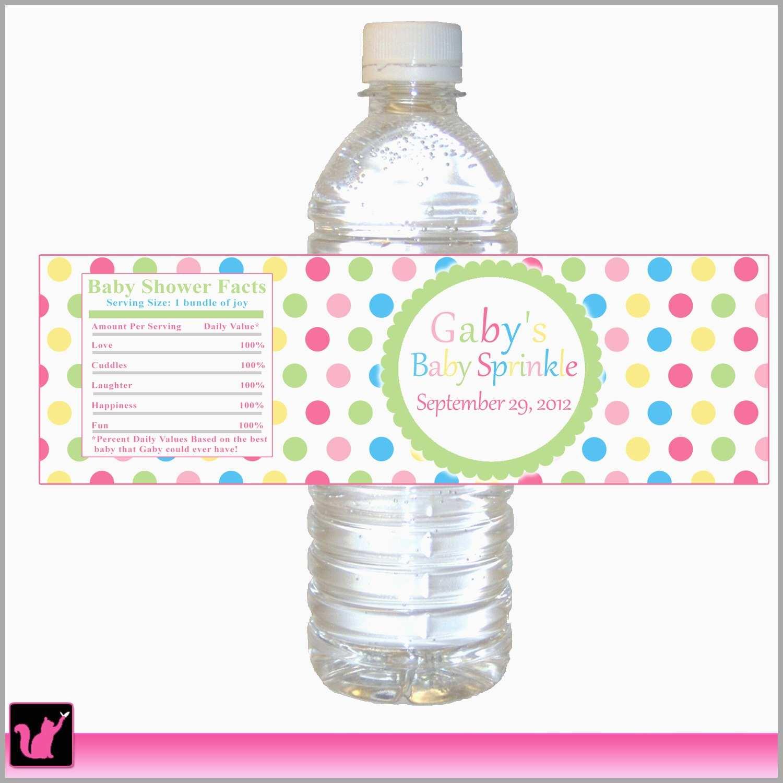 Free Printable Baby Shower Labels For Bottled Water Amazing Polka - Free Printable Baby Shower Labels For Bottled Water