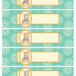Free Printable Baby Shower Templates   Free Printable Baby Shower Labels For Bottled Water