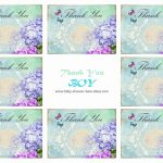 Free Printable Baby Shower Thank You Cards   Free Printable Baby Shower Thank You Cards