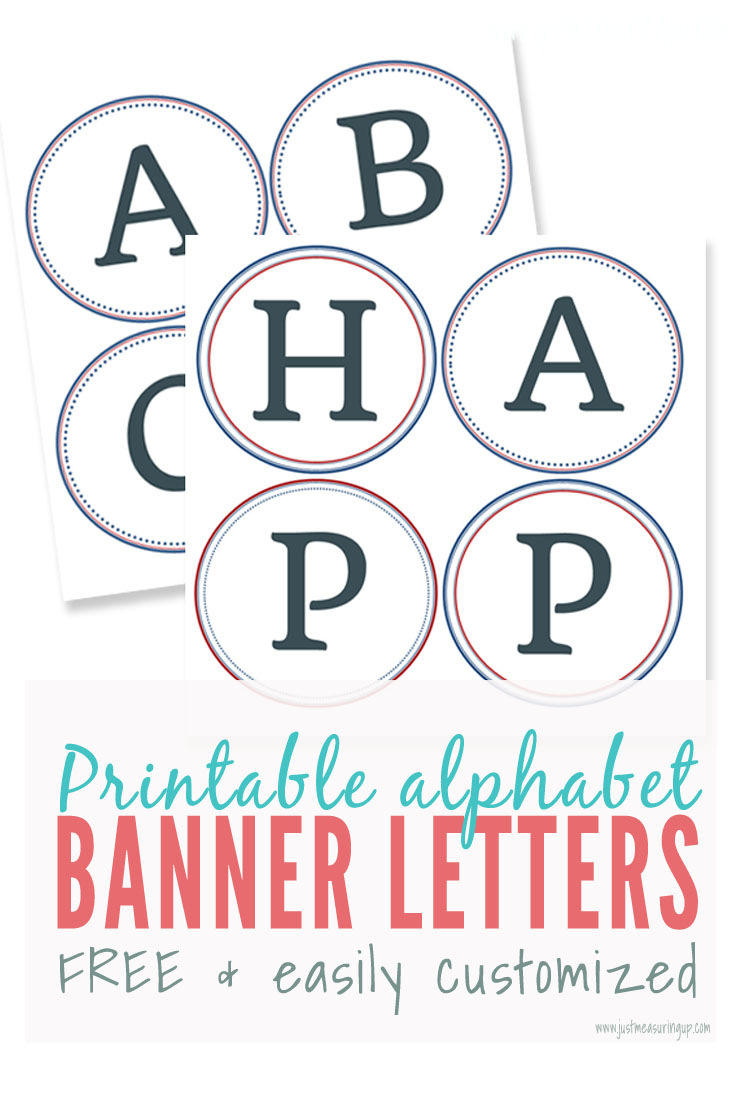 Free Printable Banner Letters | Make Diy Banners And Signs - Printable Banner Letters Template Free