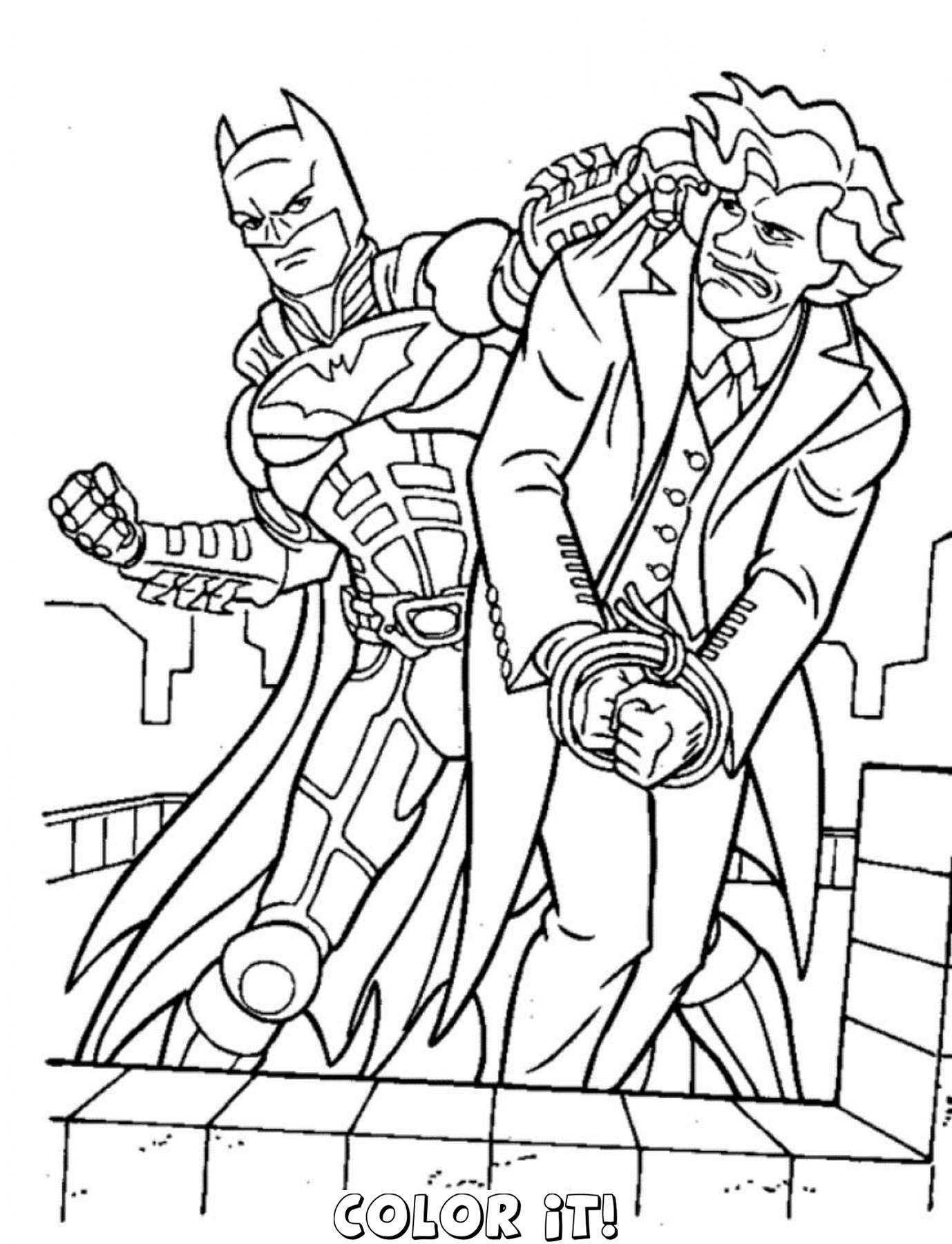 Free Printable Batman Coloring Pages For Kids Super Hero Costumes - Free Printable Batman Coloring Pages