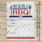 Free Printable Bbq Cookout Invitation | Free Printables | Pinterest   Free Printable Cookout Invitations
