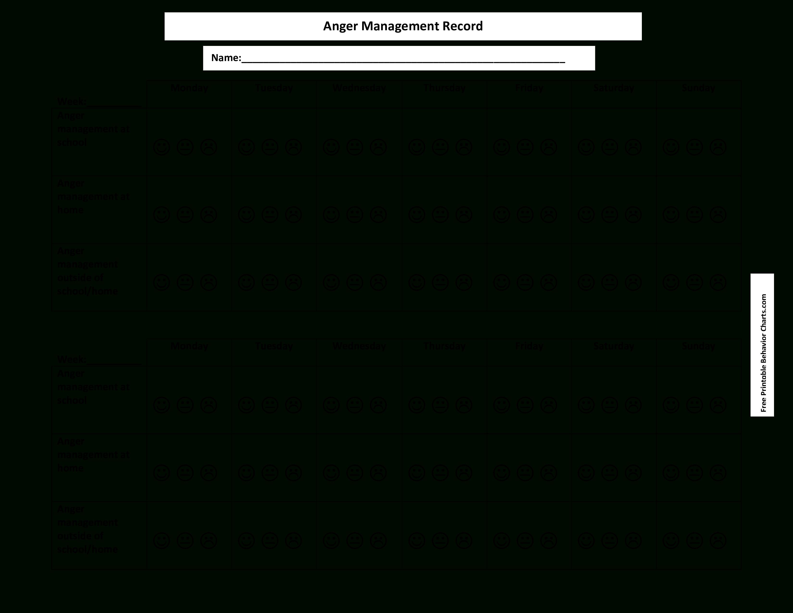 Free Printable Behavior Management Chart | Templates At - Free Printable Behavior Charts
