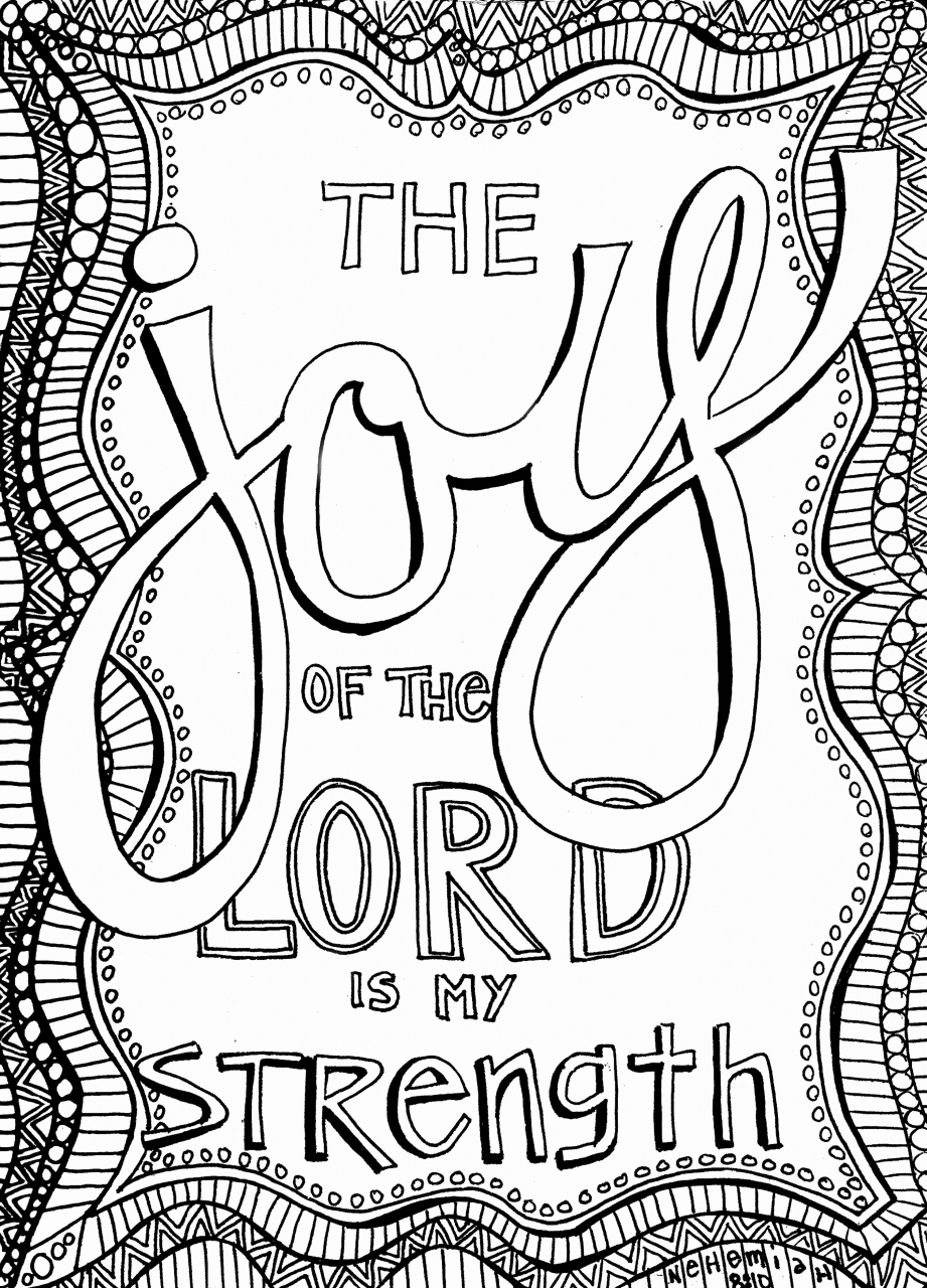 Free Printable Bible Coloring Pages With Scriptures 27 Bible Verse - Free Printable Bible Coloring Pages With Verses