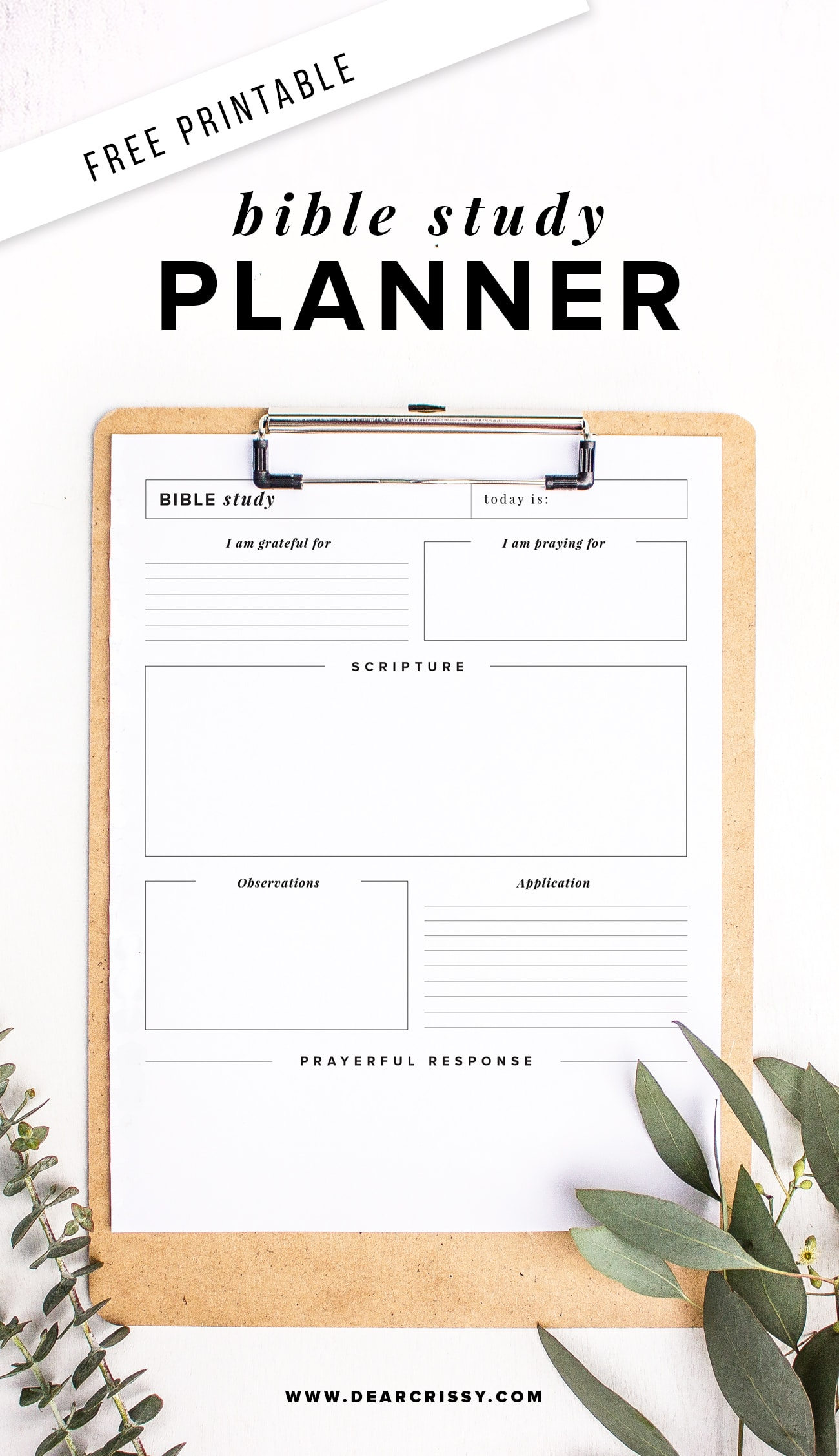 Free Printable Bible Study Planner - Soap Method Bible Study Worksheet! - Free Printable Bible Study Guides