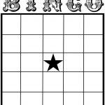 Free Printable Bingo Card Template – Set Your Plan & Tasks With Best – Free Printable Bingo Cards For Large Groups