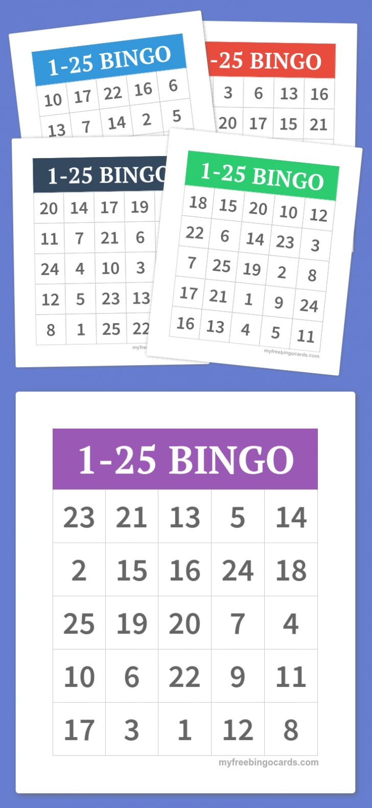 Free Printable Bingo Games