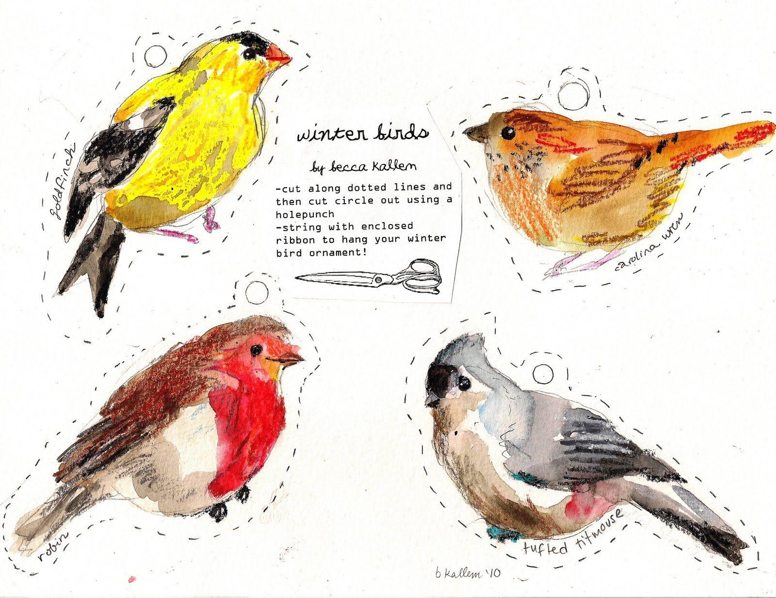 Free Printable Bird Git Tags | Rebecca's Misc. | Printable | Pinterest - Free Printable Images Of Birds