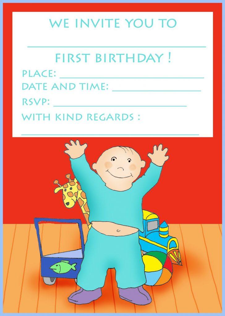 Free Printable Kids Birthday Cards Boys