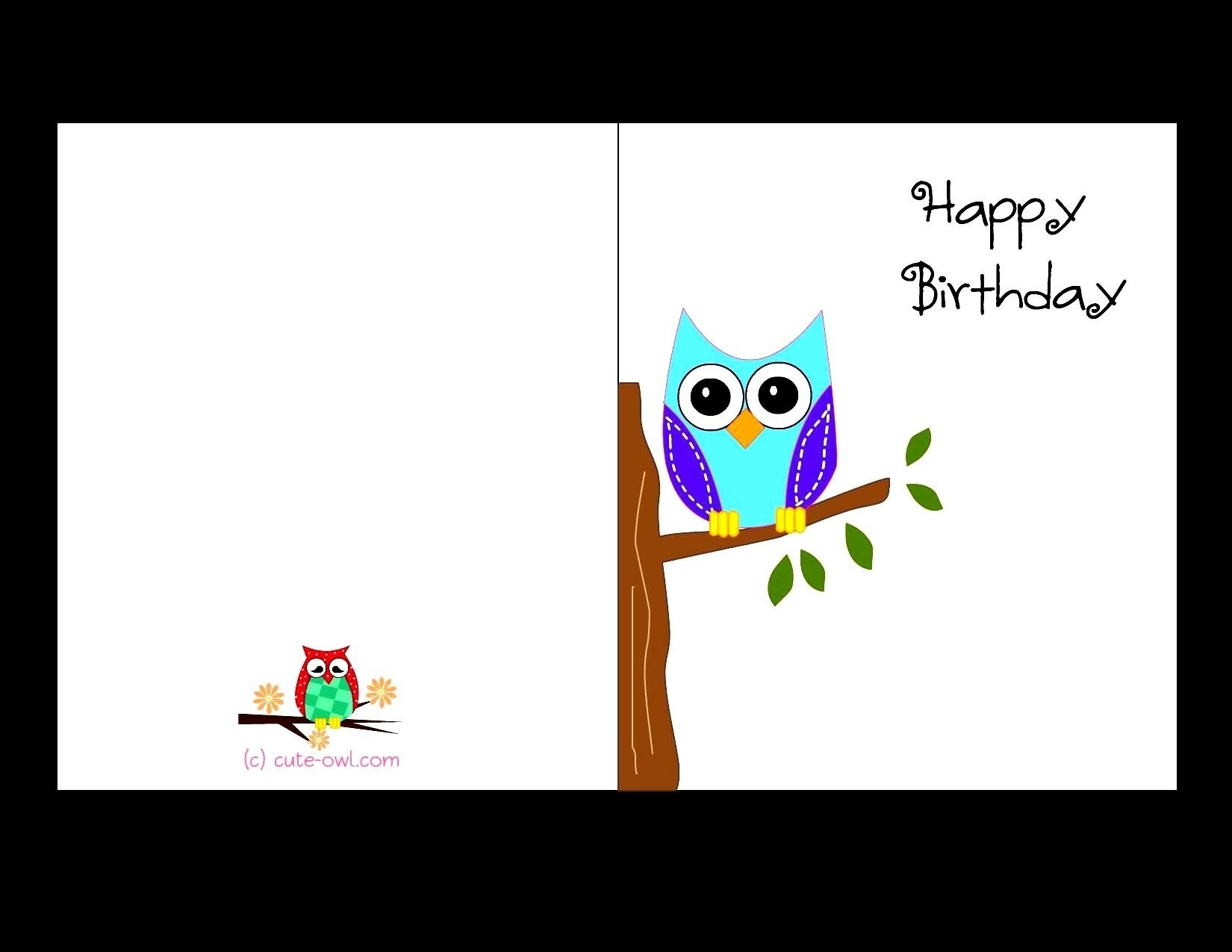 Free Printable Birthday Cards For Adults | World Of Label - Free Printable Birthday Cards For Adults