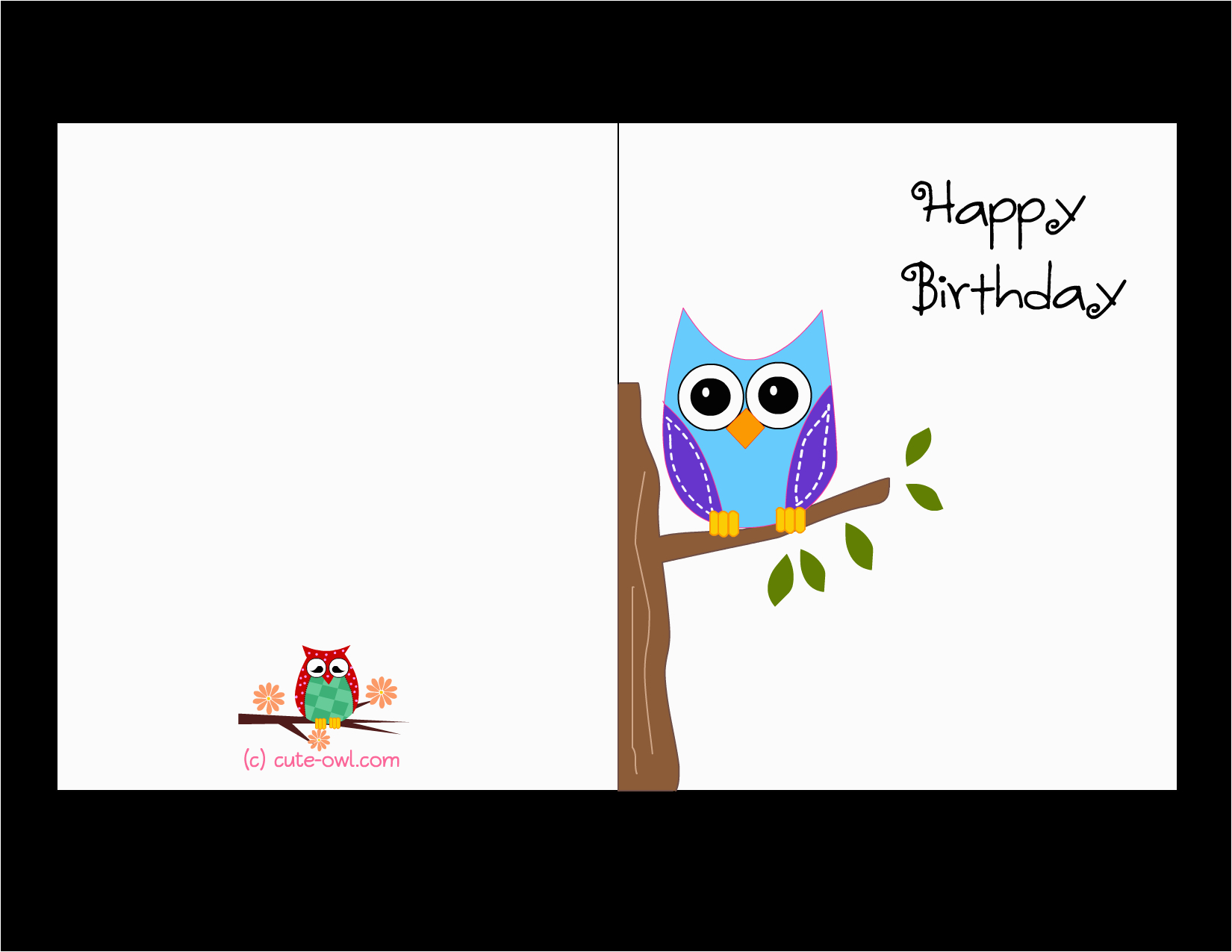 Free Printable Birthday Cards For Girls   Birthdaybuzz - Free Printable Birthday Cards For Boys