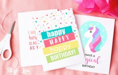 Free Printable Birthday Cards | Skip To My Lou – Free Printable Birthday Cards For Her