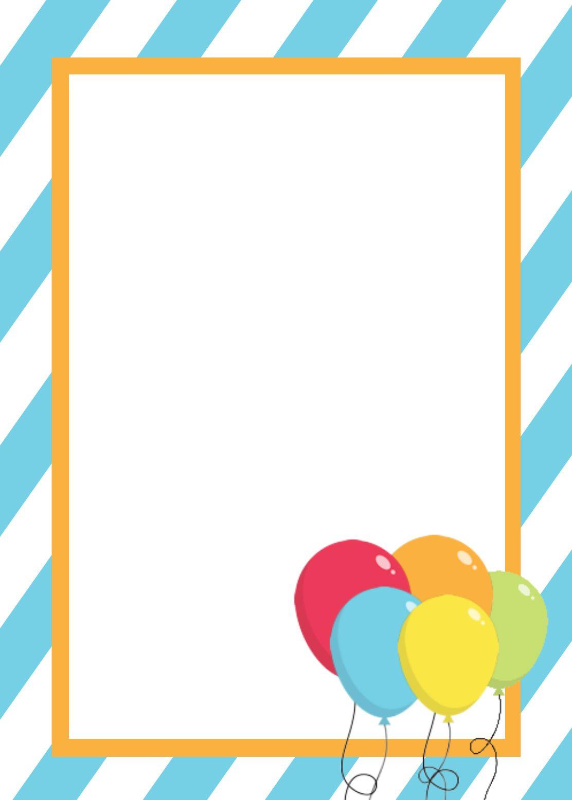 Free Printable Birthday Invitation Templates   Birthday Ideas And - Free Printable Party Invitations