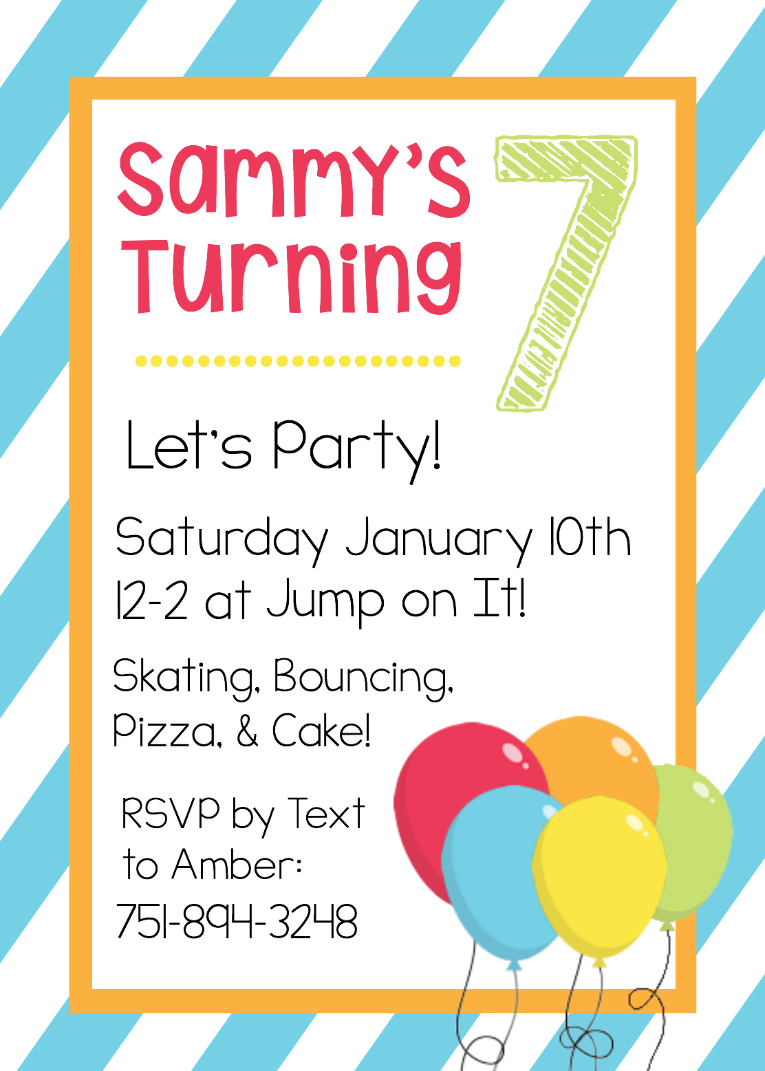 Free Printable Birthday Invitation Templates - Free Printable Invitations