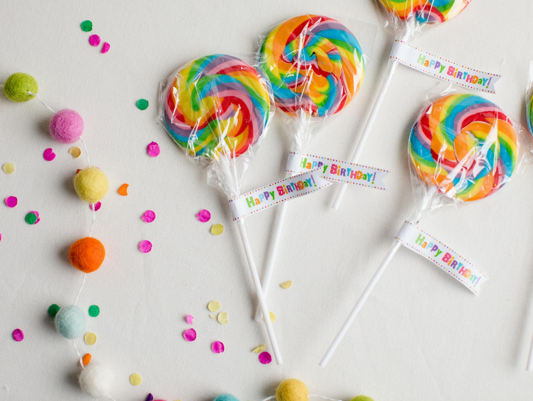 Free Printable Birthday Party Favor Tags - Birthday Party Favor Tags Printable Free