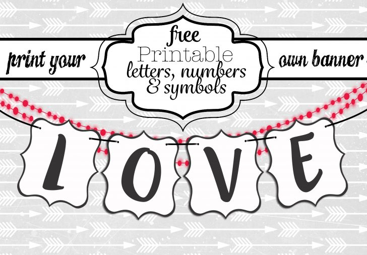 Free Printable Welcome Banner Template