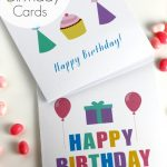Free Printable Blank Birthday Cards | Catch My Party   Free Printable Birthday Cards