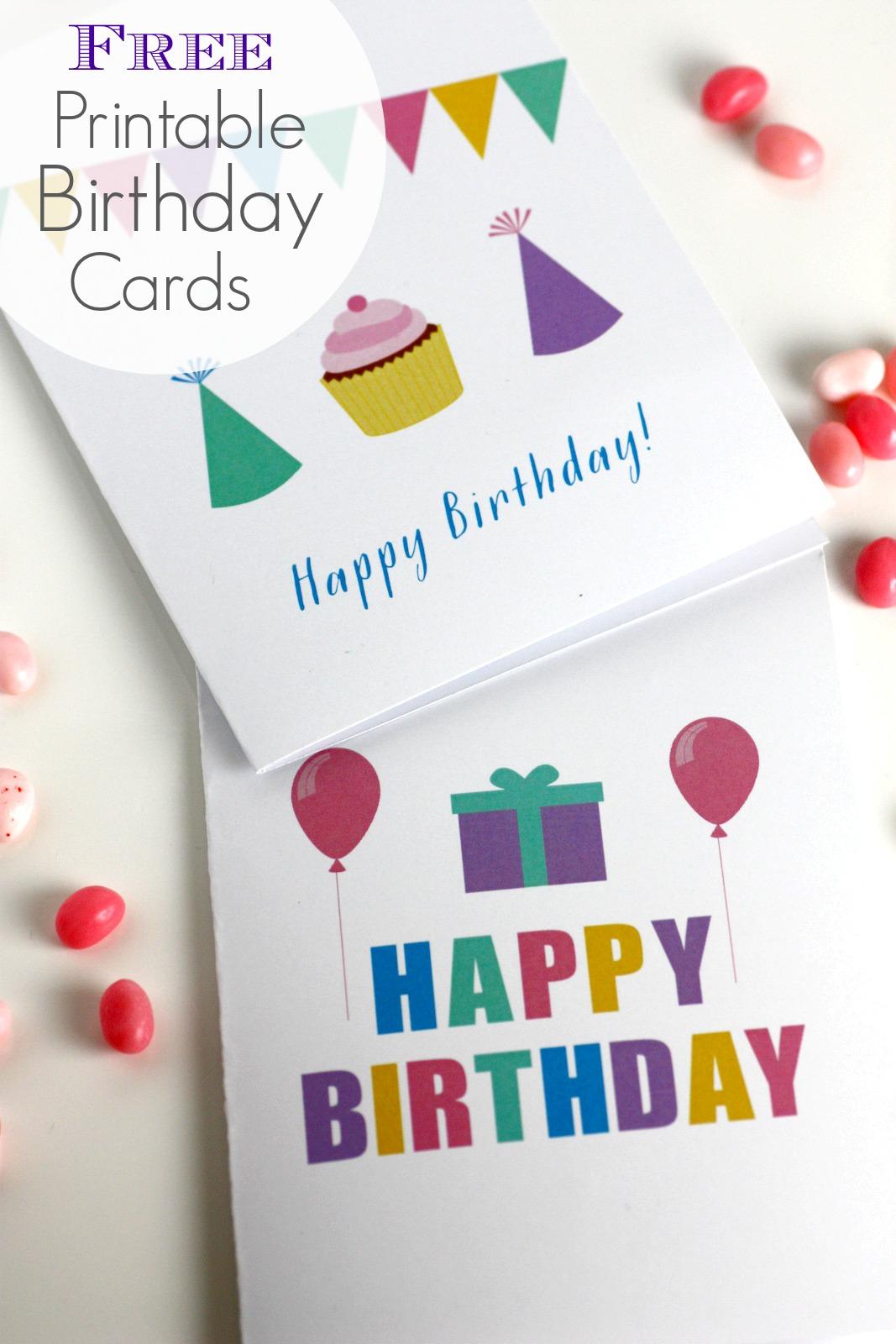 Free Printable Blank Birthday Cards   Catch My Party - Free Printable Birthday Cards For Boys