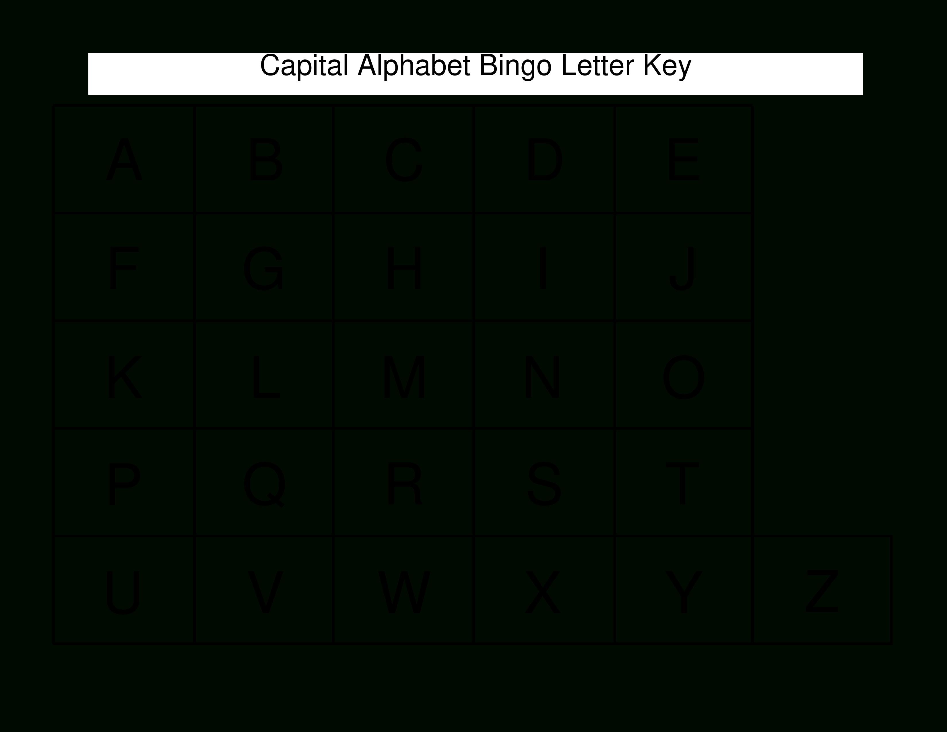 Free Printable Block Alphabet Letters | Templates At - Free Printable Block Letters