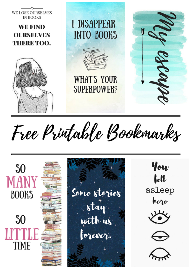 Free Printable Bookmarks | Crafty | Bookmarks, Free Printable - Free Printable Images