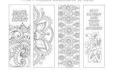 Free Printable Bookmarks Templates