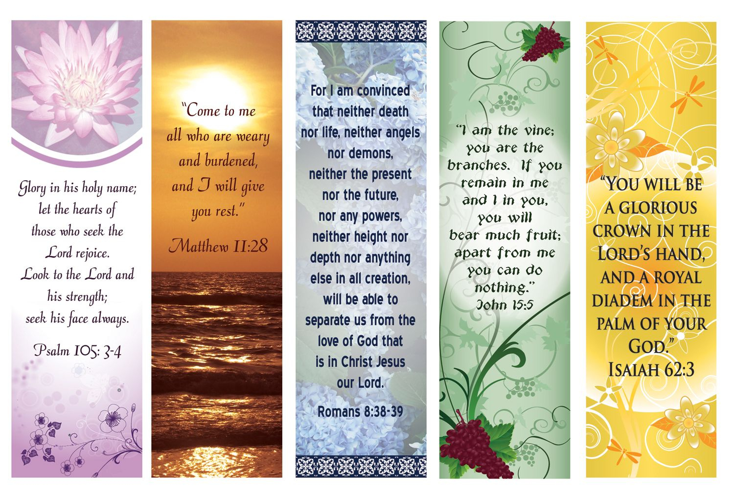 Free Printable Bookmarks With Bible Verses | Bookmarks | Pinterest - Free Printable Bookmarks With Bible Verses