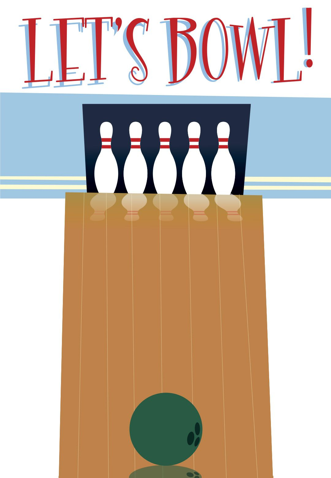 Free Printable Bowling Party Invitation. Super Cute For Tournaments - Free Printable Bowling Birthday Party Invitations