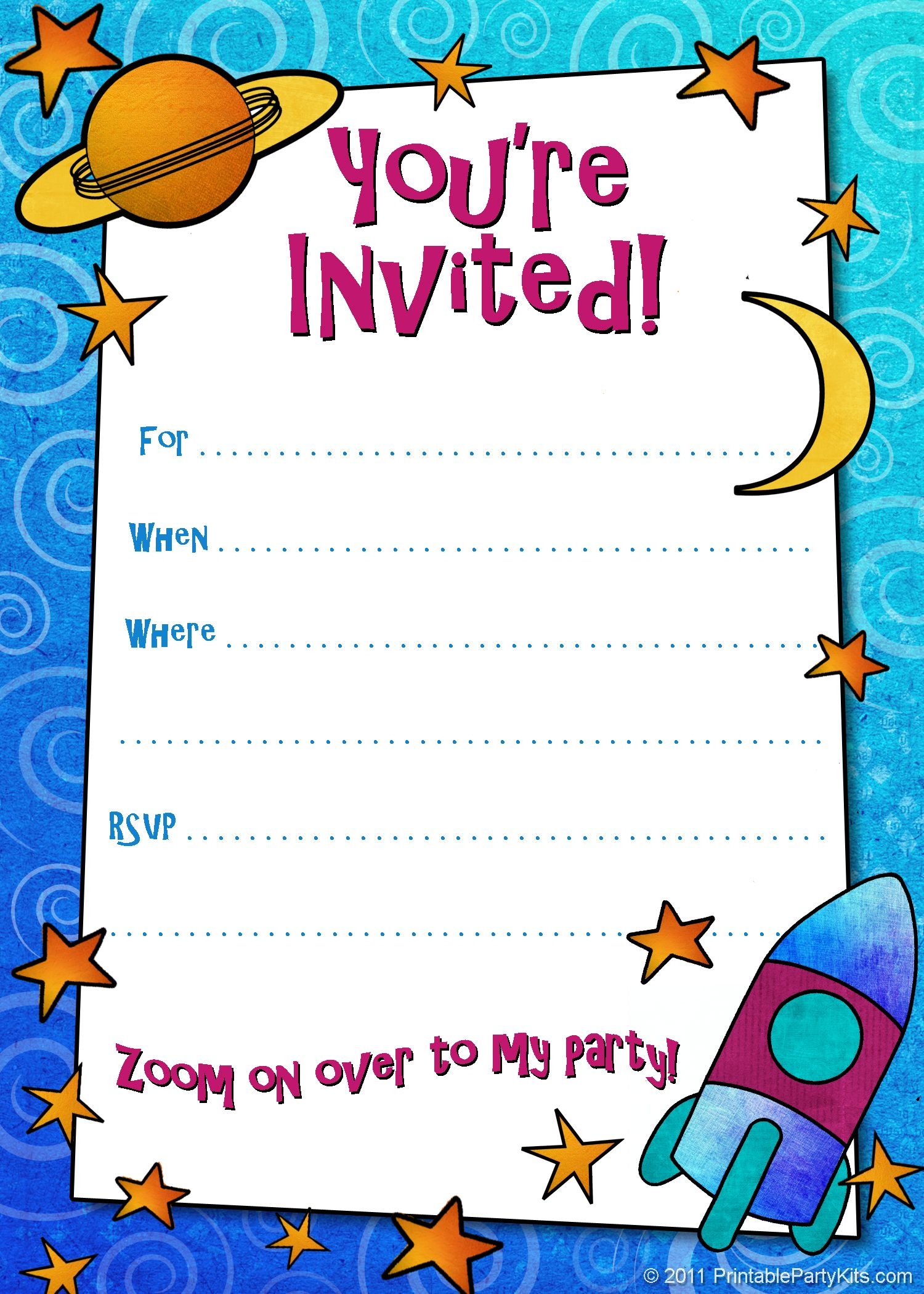 Free Printable Boys Birthday Party Invitations | Birthday Party - Free Printable Boy Birthday Invitations