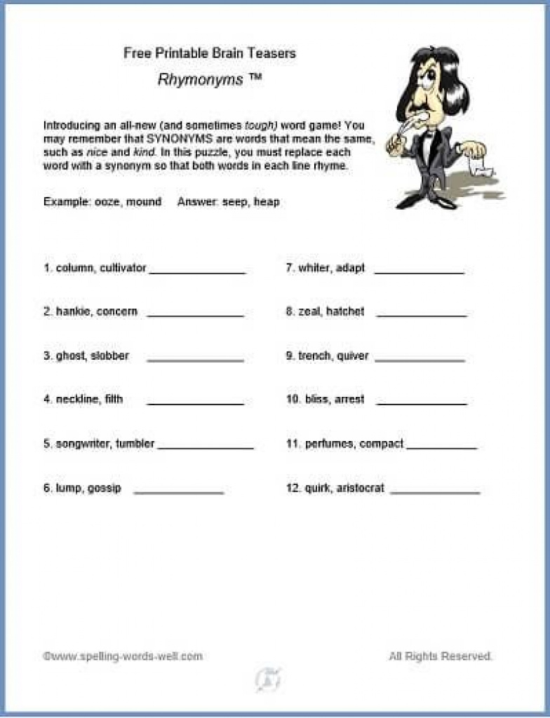Free Printable Brain Teasers   Brain Games And Teasers   Pinterest - Free Printable Brain Teasers