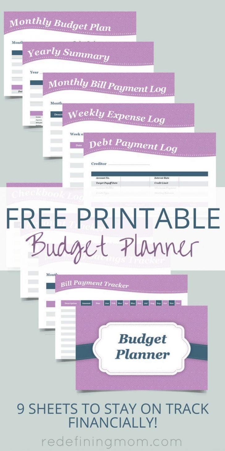Free Printable Finance Sheets