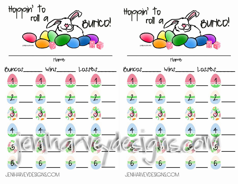 Free Printable Bunco Cards | Bunco! | Pinterest | Bunco Score Sheets - Free Printable Bunco Game Sheets