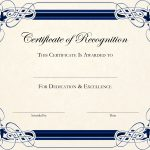 Free Printable Certificate Templates For Teachers | Besttemplate123   Free Printable Blank Certificate Templates