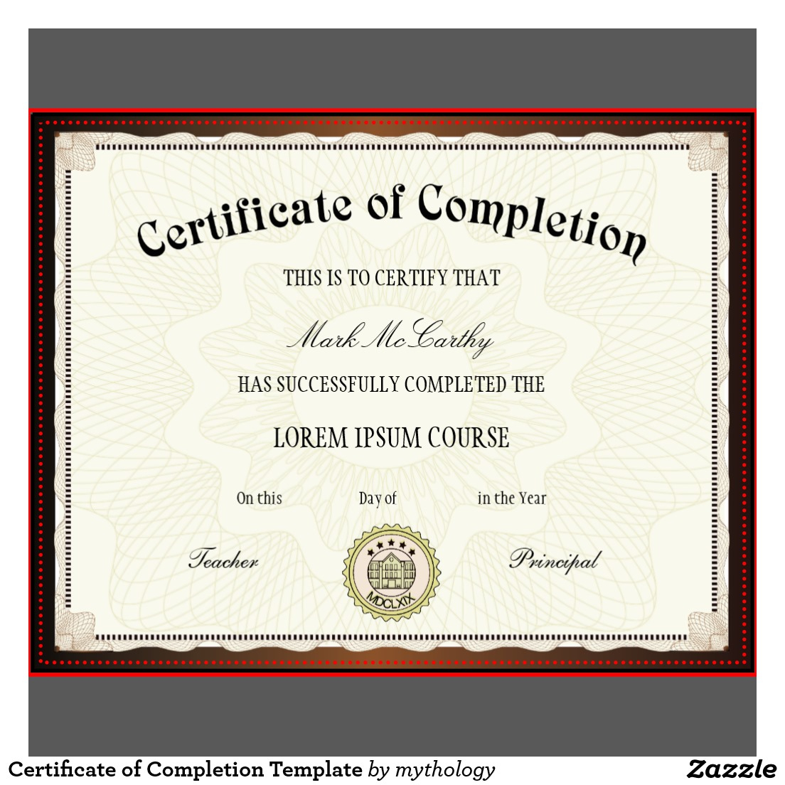 Free Printable Certificates Certificate Templates Complete Pdf Of - Certificate Of Completion Template Free Printable