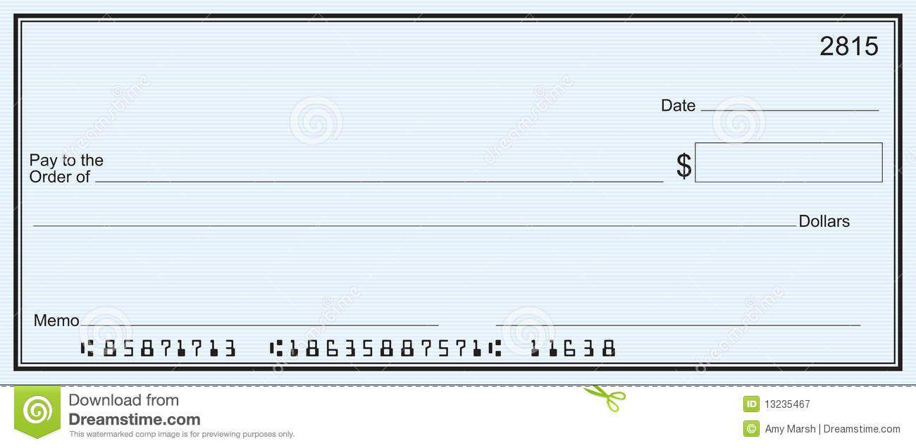 Free Printable Checks Template   Template   Pinterest   Blank Check - Free Printable Checks