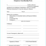 Free Printable Child Guardianship Forms Uk   Form : Resume Examples   Free Printable Temporary Guardianship Form