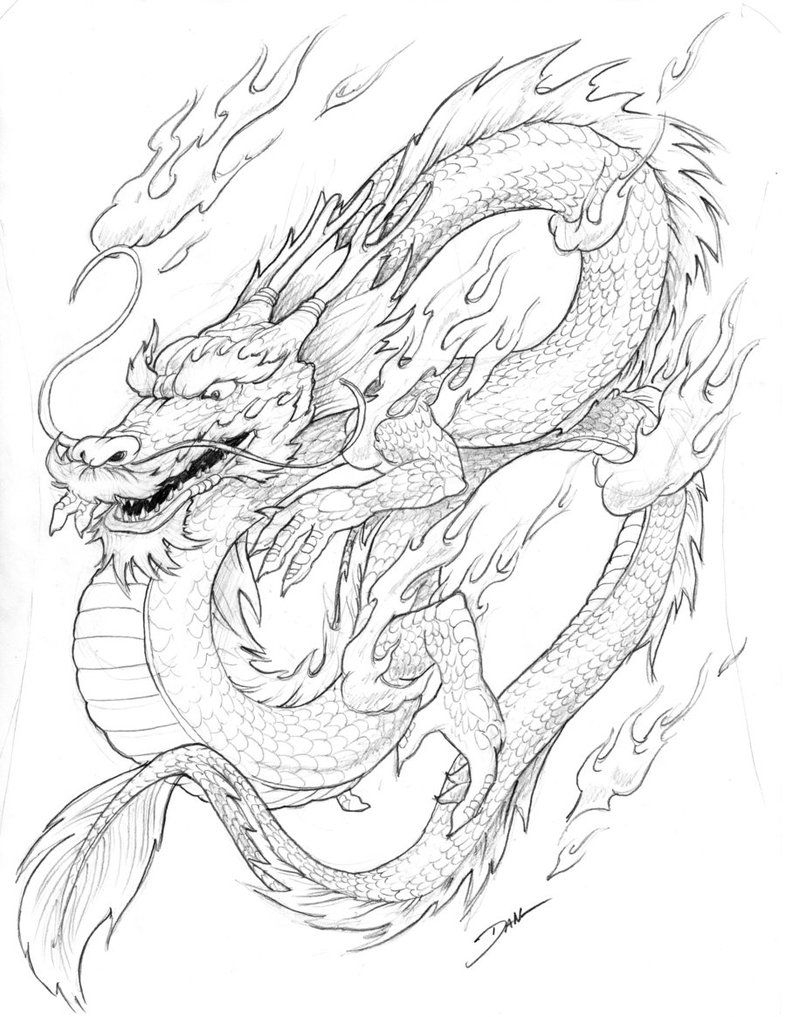 Free Printable Chinese Dragon Coloring Pages For Kids | School - Free Printable Chinese Dragon Coloring Pages